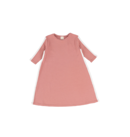lil legs Analogie Three Quarter Sleeve Linear Dress