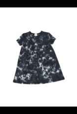 Analogie Analogie Watercolor Short Sleeve Dress