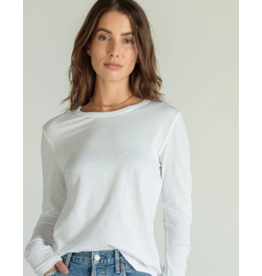 Perfect White Tee Perfect White Tee Long Sleeve Crew-T67-DYLAN