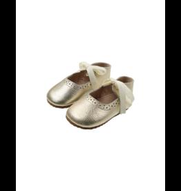 Bibelot Baby Shoes Leather Ribbon Mary Jane