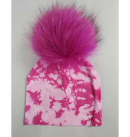 Winx and Blinx Winx and Blinx Tie Dye Pompom Cotton Hat