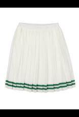 Coco Blanc Coco Blanc Tennis Pleated Skirt
