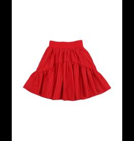 Coco Blanc Coco Blanc Seersucker Skirt