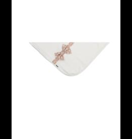 Maniere Maniere Floral Bow Blanket