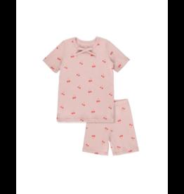 Bon Rever Bon Rever Cotton Cherry Print Pajama