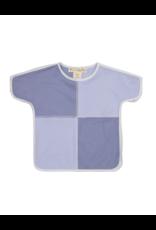 Teela Teela Solid Girl's Color Block T-shirt