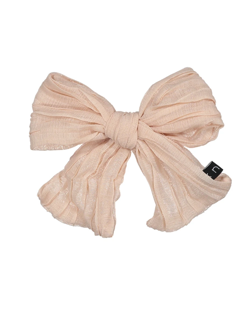 Knot Knot Ruched Bow Clip