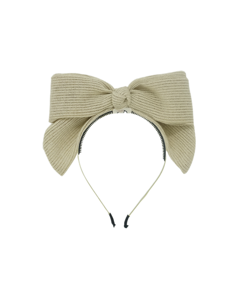 Bandeau Bandeau Crochet Knit Bow Headband