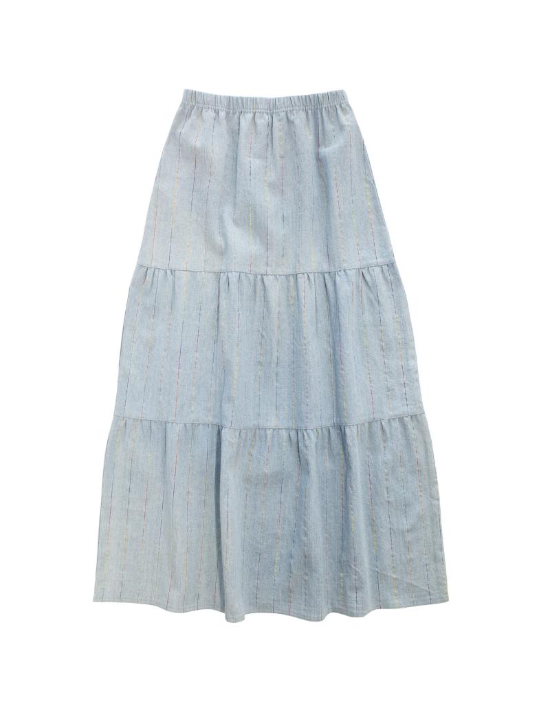 Crew Crew Tiered Maxi Skirt