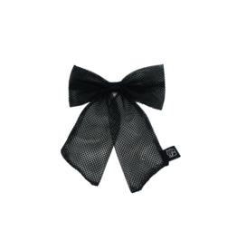 Bandeau Bandeau Netting Large Bow Hair Clip
