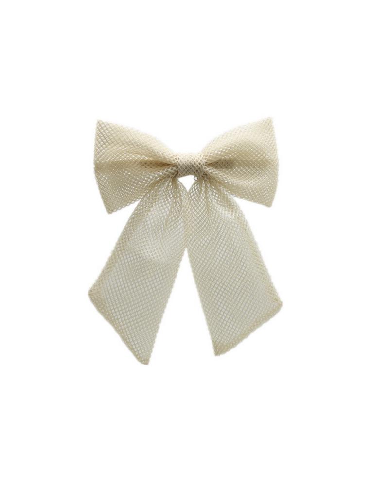 Bandeau Bandeau Netting Large Bow Hair Clip