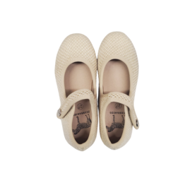 Zeebra Zeebra Latte Woven MJ Hard Sole