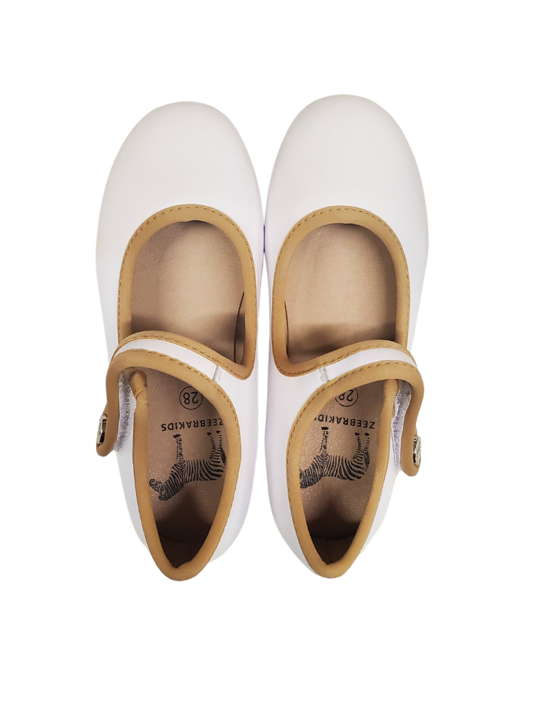 Zeebra Zeebra Coconut  MJ Contrast Collection Hard Sole