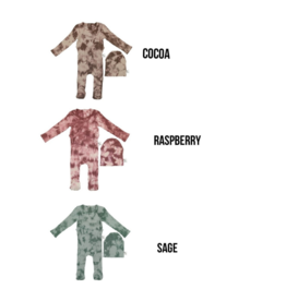 Zeebra Zeebra Tie Dye Collection Onesie