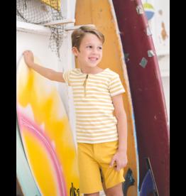 Montee Montee Horizontal Striped Boys Shorts