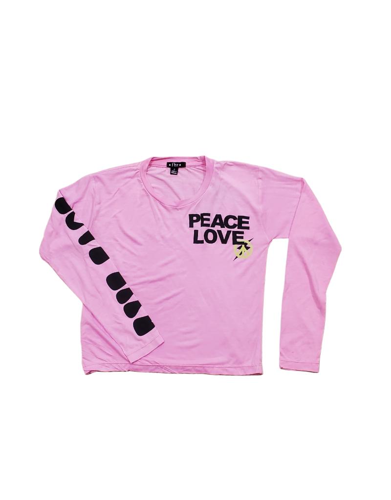Global Love Global Love Peace Love Top