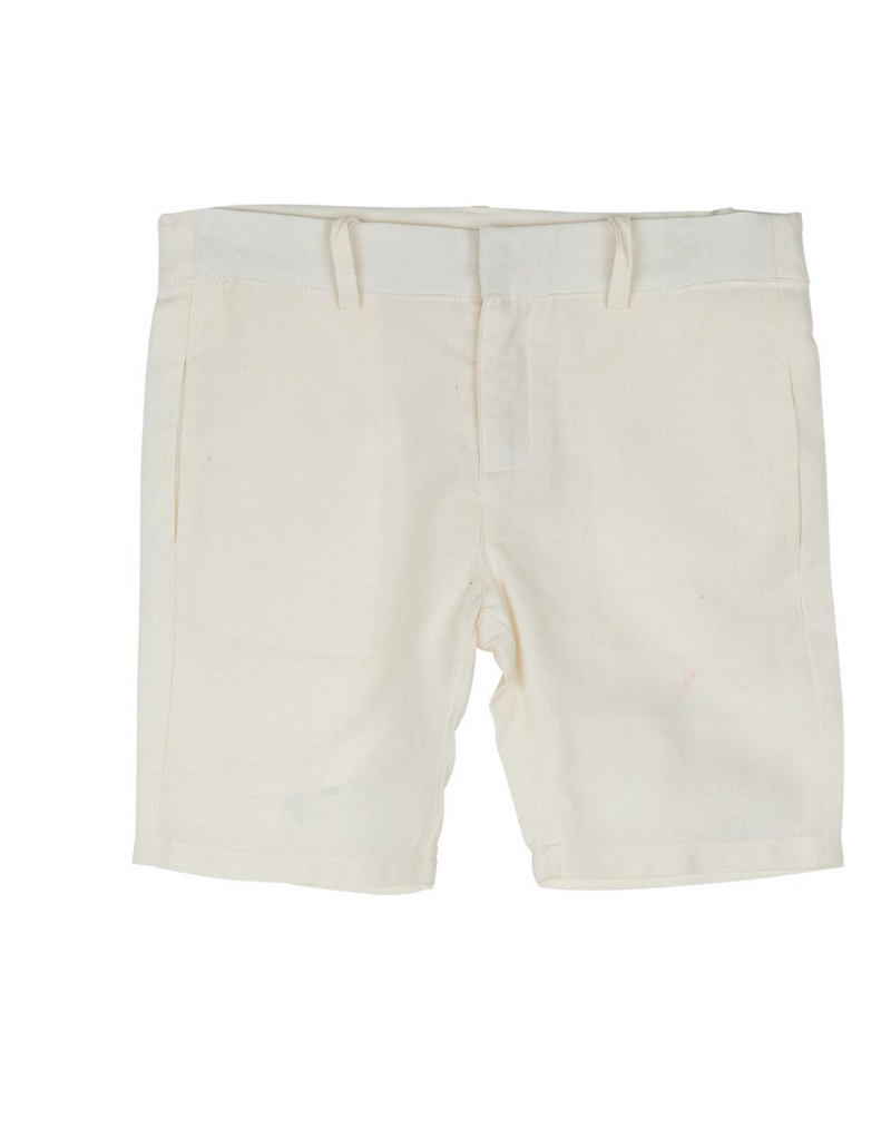 Sweet Threads Sweet Threads Dark Cream Shorts