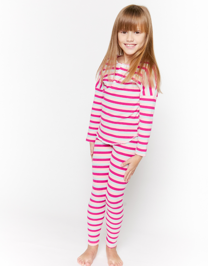 Crew Crew Multi Stripe Lounge Set