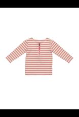 Montee Montee Horizontal Striped  3/4 Sleeve Shirt