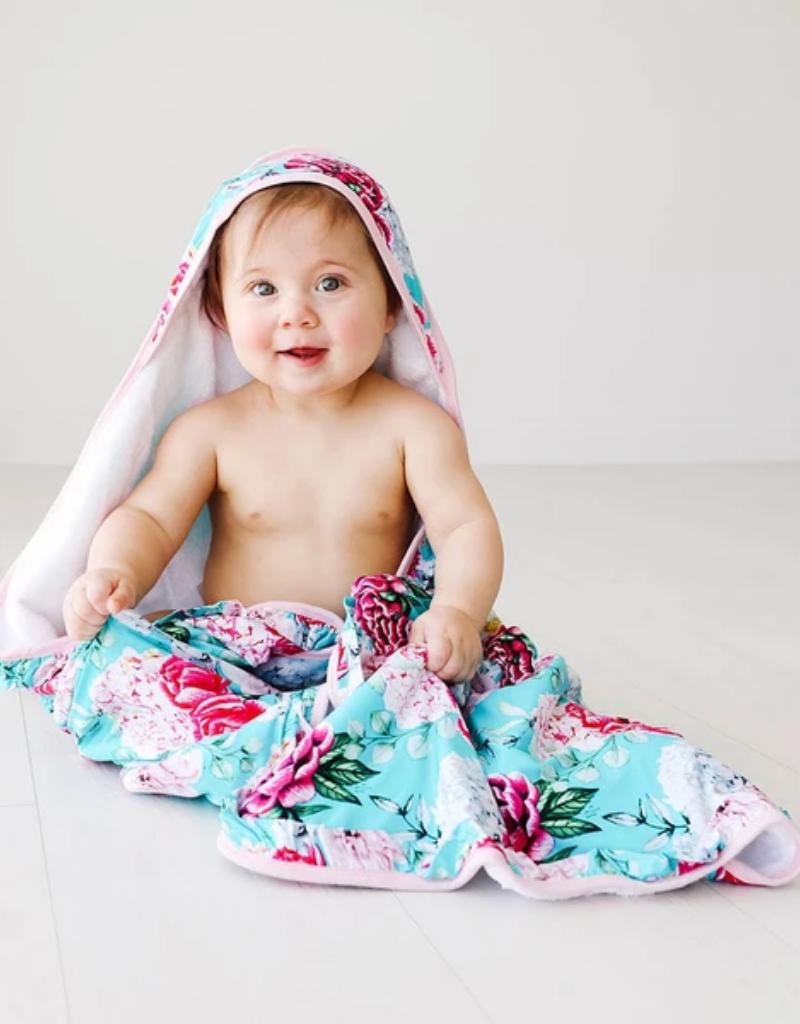 Posh Peanut Posh Peanut Eloise Ruffled Hooded Towel