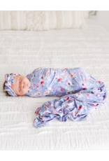 Posh Peanut Posh Peanut Samantha Infant Swaddle and Headwrap Set