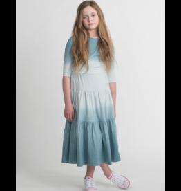 Urbani Urbani Ombre Peasant Maxi Skirt