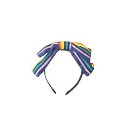 Jelly Bean Jelly Bean Multi Stripe Bow Headband