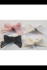 DaCee DaCee Lace Ribbon Bow Small Clip
