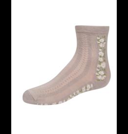Zubii Zubii Textured with Vintage Floral Insert Anklet-366