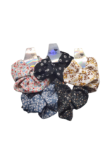 DaCee DaCee Floral Printed Scrunchy