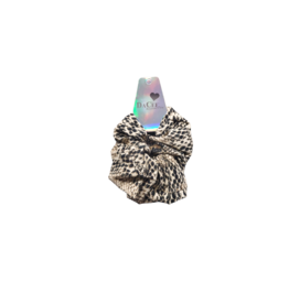 DaCee DaCee Leopard Cotton Scrunchy