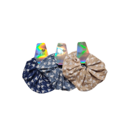 DaCee DaCee Houndstooth Scrunchy