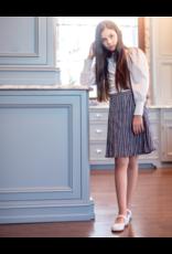 Delicat Delicat Gingham Pleated Skirt