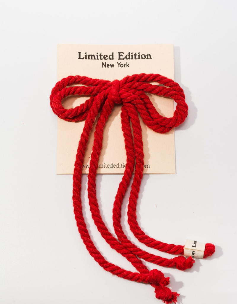 Limited Edition Limited Edition Rope Pony Rubber
