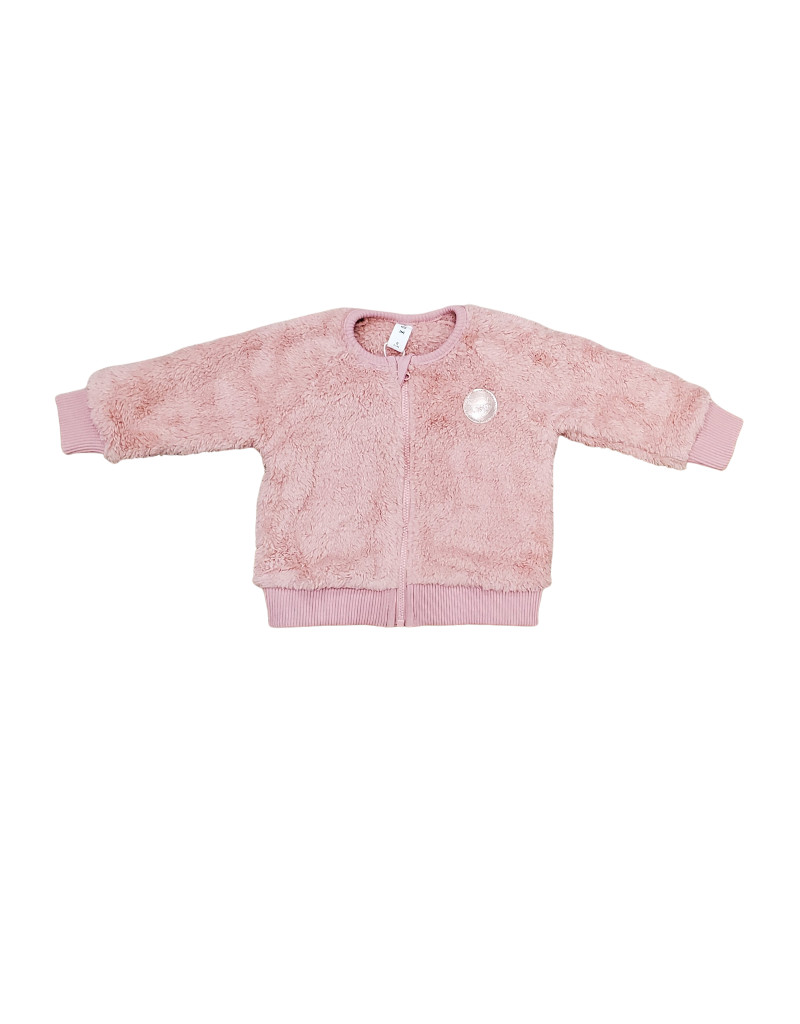 Huxbaby Huxbaby Infant Faux Fur Jacket