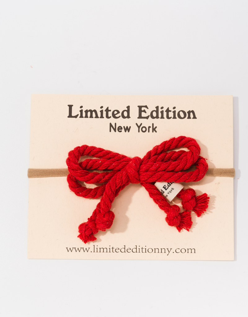 Limited Edition Limited Edition Rope Baby Headband