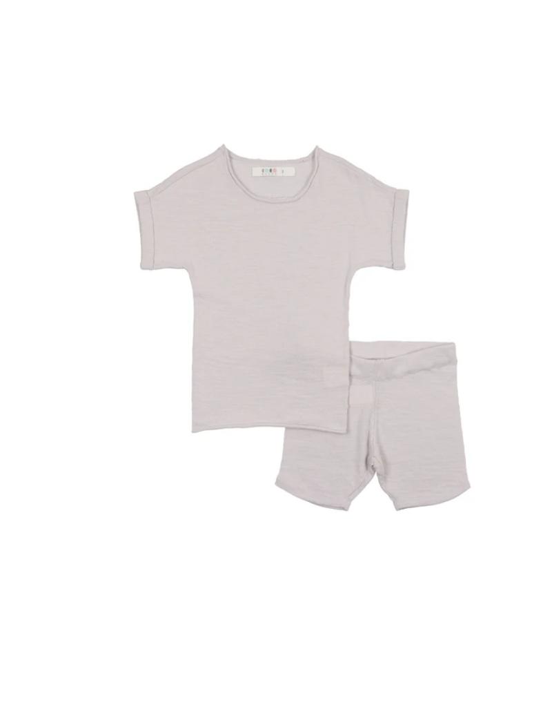 Coco Blanc Coco Blanc Slub Knit Set