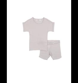 Coco Blanc Coco Blanc  Infant Slub Knit Set