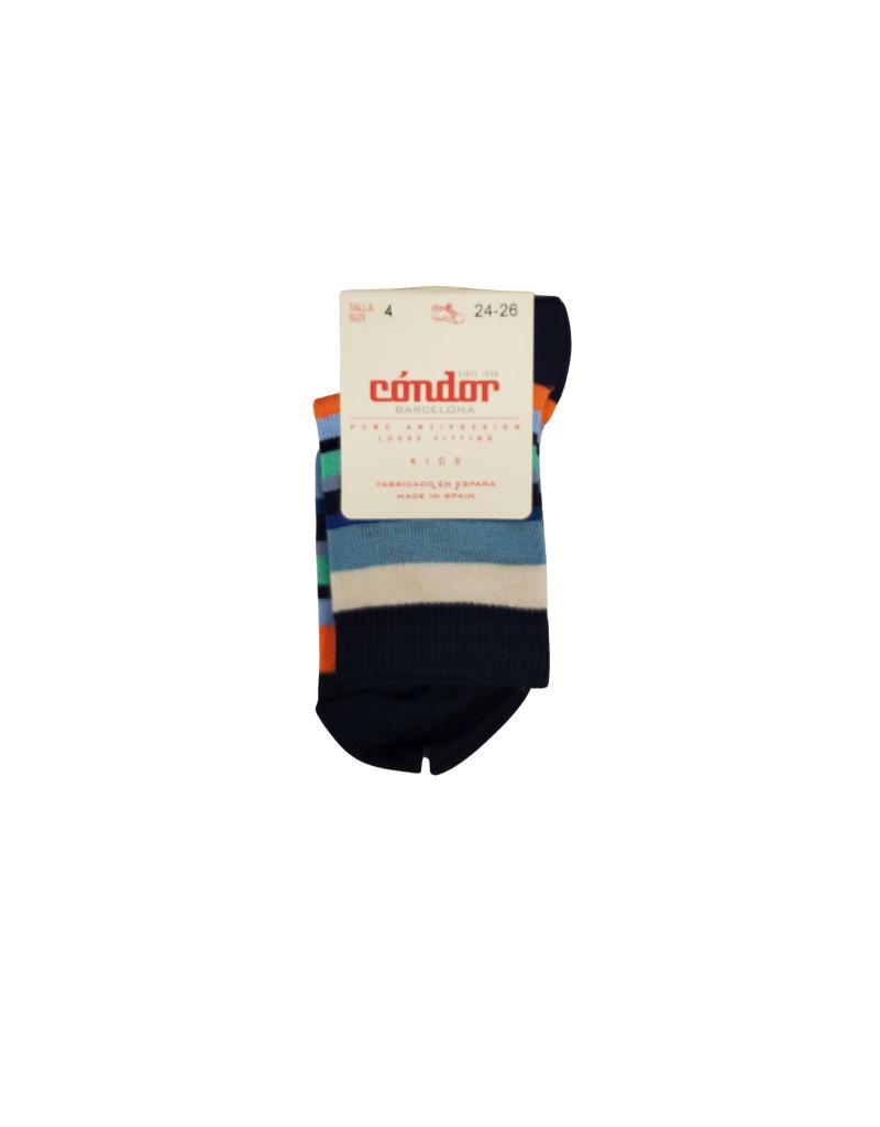 Condor Condor Multicolor Striped Sock 3301/4