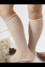 Condor Condor Net Crochet Knee Sock w/ Rolled Cuff 2508/2