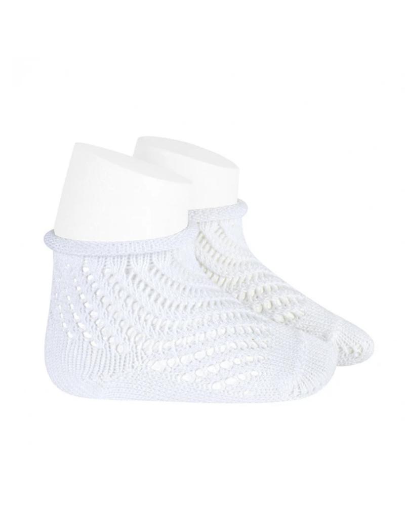Condor Condor Net Crochet Sock w/Rolled Cuff 2508/4
