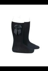 Condor Condor Knee Socks w/Grosgrain Bow 2482/2