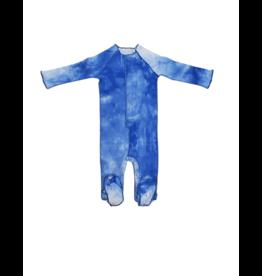 BRB BRB  Tie Dye Baby Footie