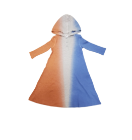 Bla Bla Bla Bla Waffle Knit Dip Dye Dress