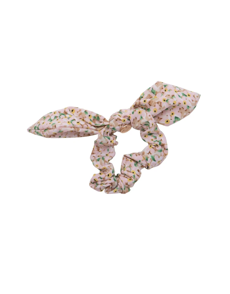 Halo Luxe Halo Luxe Lily Print Bow Scrunchie