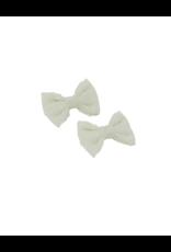 Bandeau Bandeau Swiss Dot Mini Bow Clip Set
