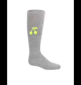 Zubii Zubii Neon Cherry Knee Socks- 335