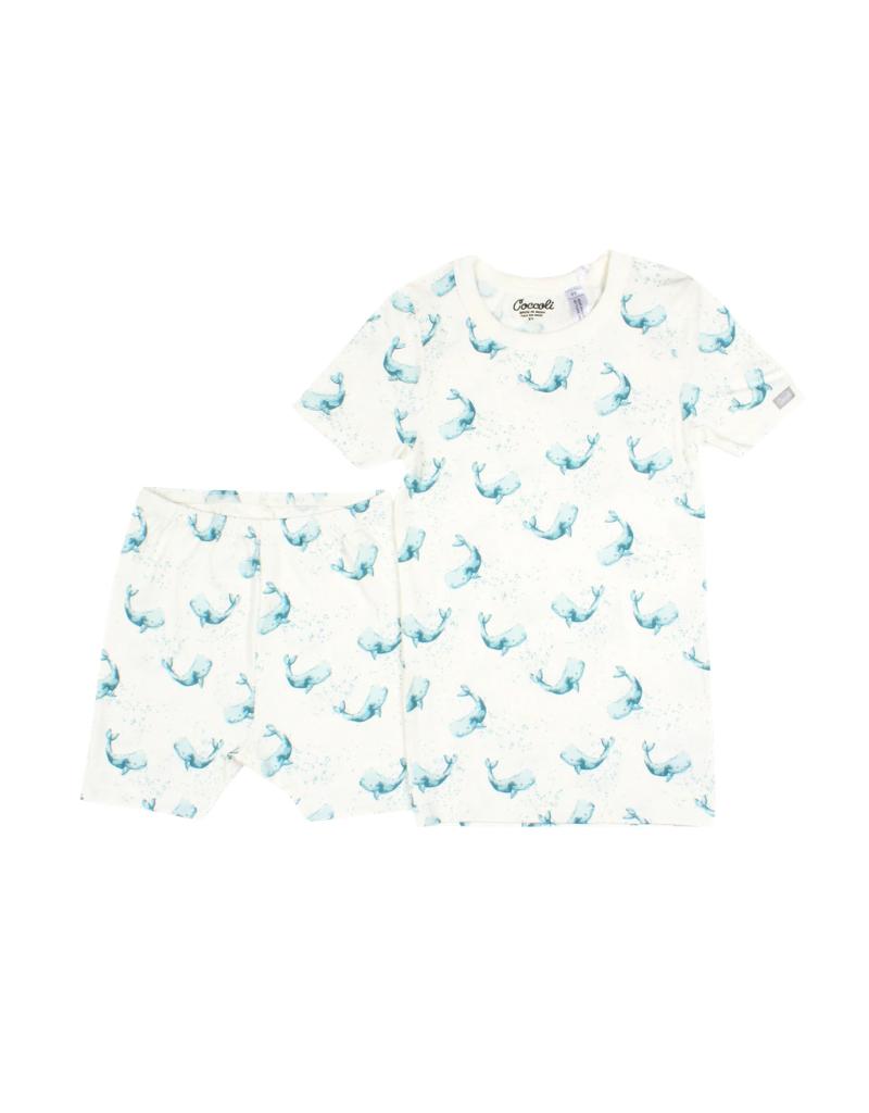 Coccoli Coccoli Whales  Pajama