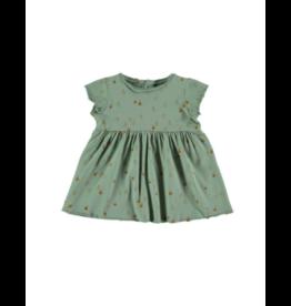 Babyclic Babyclic Infant  Apple Dress with Bloomer