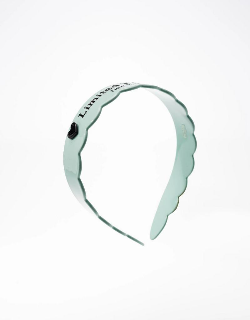 Limited Edition Limited Edition NY Acetate Scalloped Headband